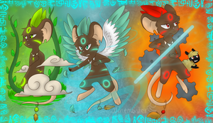 . shamans of Transformice . by classydove