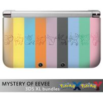MYSTERY OF EEVEE 3DS bundles by TrachaaArMy
