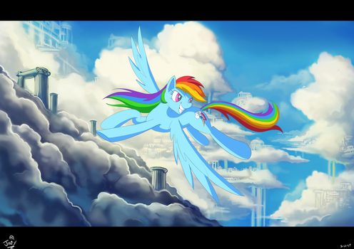 Come on just Soar by Jowybean