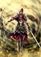 Elven Warrior by shizen1102