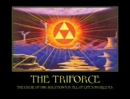 The triforce demotivational by Dbgtinfinite