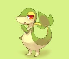 Snivy by Shouren
