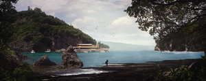 My first matte painting :) by stgspi