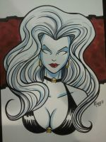 Wizard Philly 2013 Lady Death by RichBernatovech