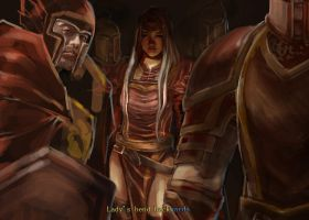 Prophetess Meelya of Light of Tyr Crusade by Rosalind-WT