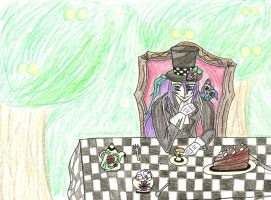 Gakupo the Mad Hatter by DRAX-IS-MY-NAME