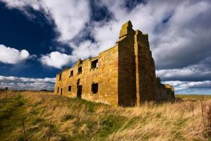 Low Chibburn Estate Ruins by newcastlemale