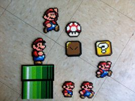 Various Super Mario Bros. Sprites by Night-TAG