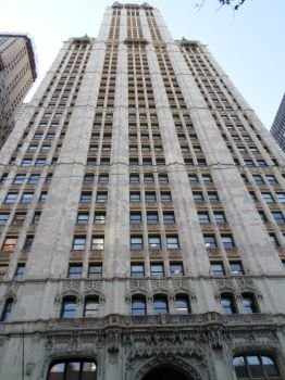 Looking Up-Woolworth Tower by towerpower123