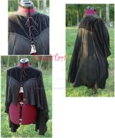 Victorian_Gothic capelet by FrockTarts