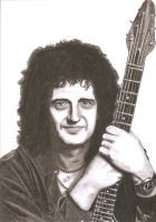 Brian May. by Slayerlane