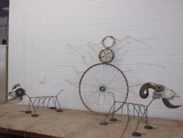Steampunk Sculptures For Sale by Roxy2344