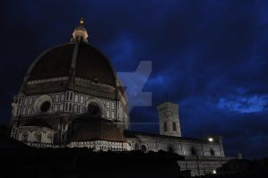 Duomo at Night by BillyBobJoeFred