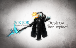 League of Legends Wallpaper - Viktor by deSess