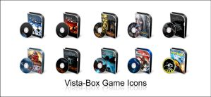 Vista-Box Game Icons by HailToTheFreak