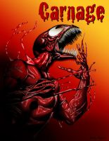Carnage Illustration by coorky