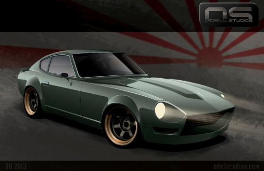 Datsun 240z by cityofthesouth