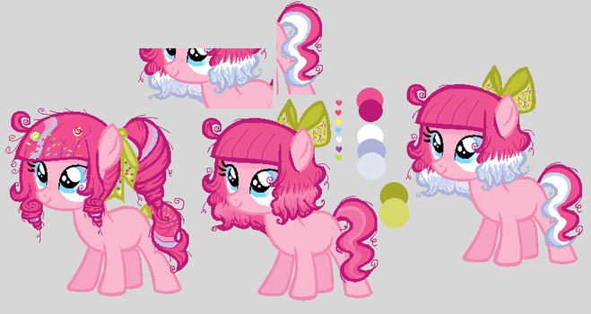 [MLP-Contest Entry] Mini-me redesign mane ENTRY! by cutecutederpypony14