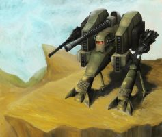 Mechwarrior Concept: Rattlesnake by Waiting-For-The-End