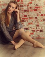 Rubia, shoeless. by Real-Neil