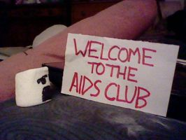 HorrorMellows: Welcome to the AIDS Club by InvaderKez