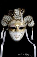 Full Venetian Mask by EmbPhotography