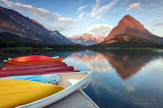 .:Swiftcurrent Lake II:. by RHCheng