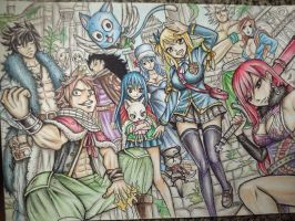 Fairy Tail by mila-chaan