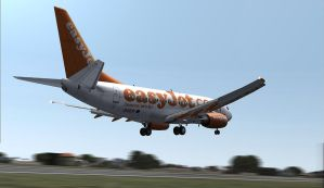 Easyjet 737 by Boeing787