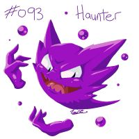 093 - Haunter by oddsocket