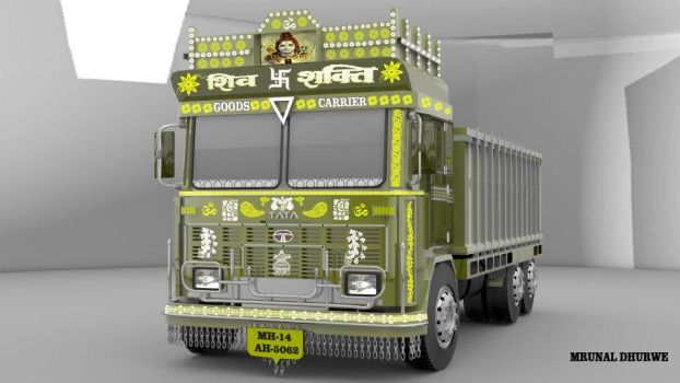indian Truck by madaramonu