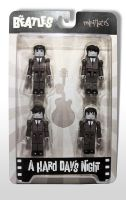 The Beatles Minimates Front by luke314pi