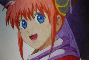 Kagura (colour) by Hlqb