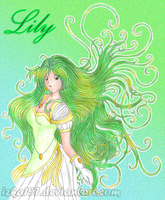 .Lily- green Princess. by izka197