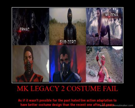 MK Legacy 2 Costume Fail by DBZForever