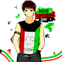 Happy National Day ! by Hannun