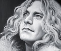 Robert Plant by CHAOSART666