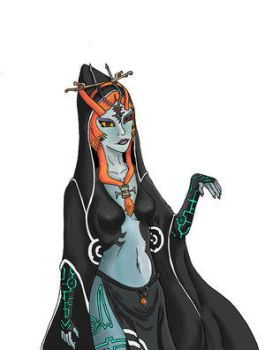 Midna Colored by The-Knights-of-Wii