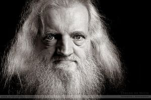 The Man with the Beard by JurgendeWitte