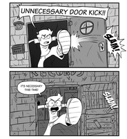 DOOR KICK! by nasakii