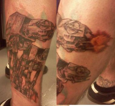 Imperial Walkers Tattoo by ShannonRitchie