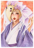 Natsume as Houzukigami by Khallandra