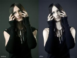 BJD - before_after by AirinArt