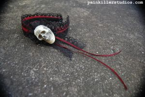 """Skull Prince"" Headband by PainkillerStudios"