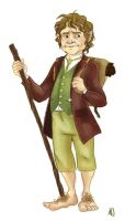 Bilbo Baggins by snowapples