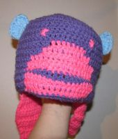 Purple monkey hat by neilak20