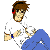 Me Anime'd by DeviantK14