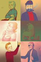 Tintin - Five-Color Compilation by Atlas-White