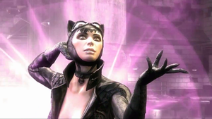 Injustice: Gods Among Us - Arkham City Catwoman by TheRumbleRoseNetwork