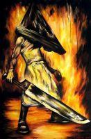 Pyramid Head for Ainstain by Czarine